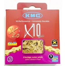 Corrente KMC X10 Gold TI